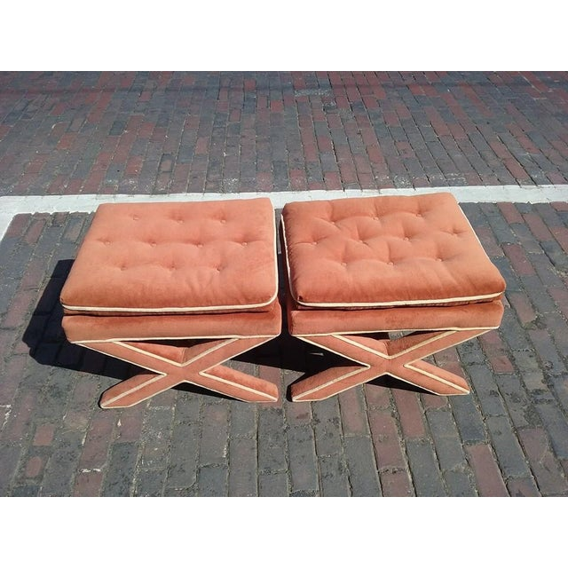 Billy Baldwin Attributed Ottomans - A Pair - Image 5 of 5