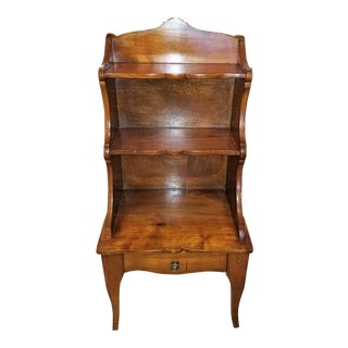 18th Century French Country Cherrywood Side Table or Open Case For Sale