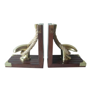 Nautical Style Bookends - a Pair For Sale