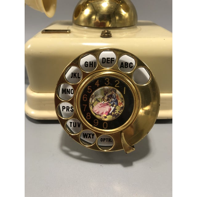 Mid-Century Electric Dial Phone 1950s Circa For Sale In New York - Image 6 of 8