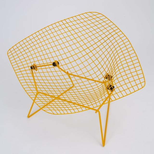 Mid-Century Modern Rocking Diamond Chair by Harry Bertoia For Sale - Image 3 of 12