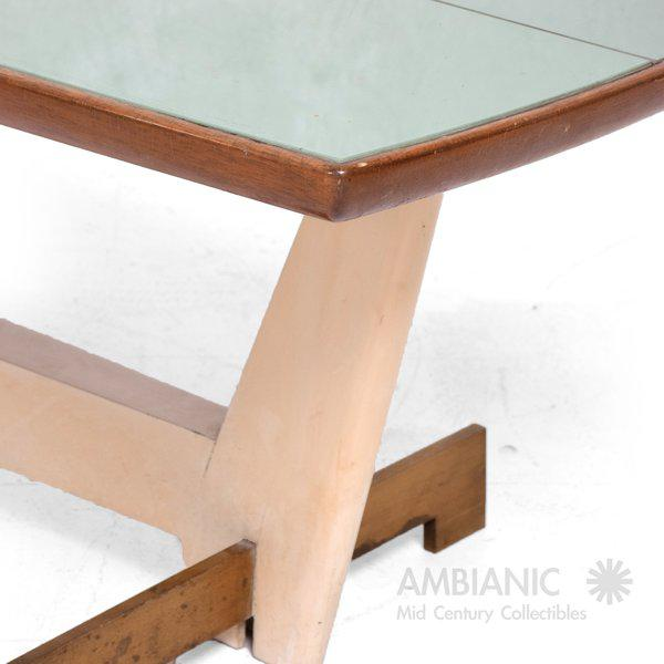 Custom Coffee Table After Gio Ponti For Sale In San Diego - Image 6 of 6