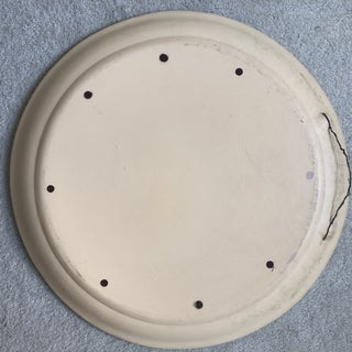 Hand Painted Terra-Cotta Plate Preview