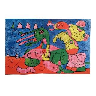Joan Miró Ubu Roi 1965 For Sale
