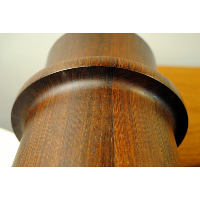 Rare Dansk Wenge Wood Ice Bucket by Jens Quistgaard For Sale - Image 9 of 13