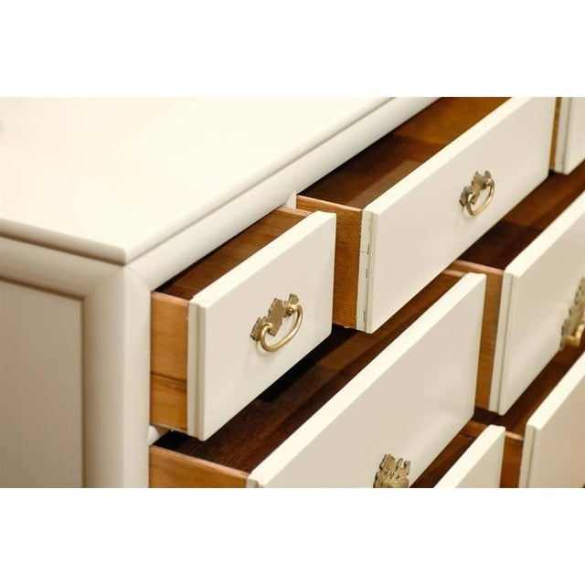 1970s Gorgeous Ten-Drawer Chest by Century Furniture Company, Pair Available For Sale - Image 5 of 11