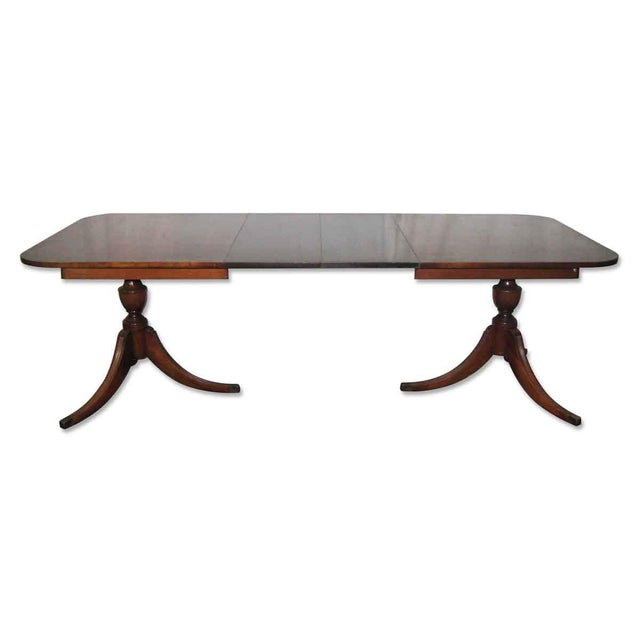 20th Century Traditional Duncan Phyfe Extendable Table For Sale - Image 10 of 10
