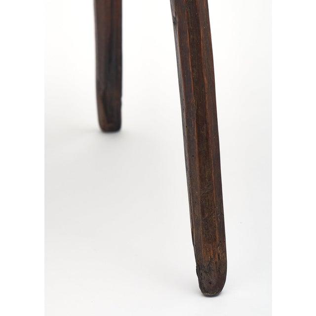 Italian Farm Wood Side Table For Sale - Image 9 of 10