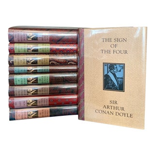 The Complete Sherlock Holmes 9-Volume Hardback Book Set by Sir Arthur Conan Doyle For Sale