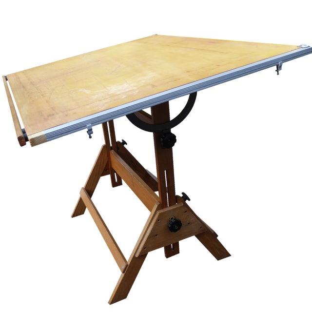 Vintage Drafting Table - Image 1 of 10