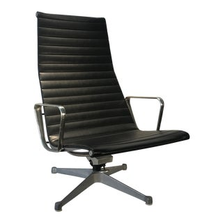 1960s Vintage Eames for Herman Miller Aluminum Group Lounge Chair For Sale