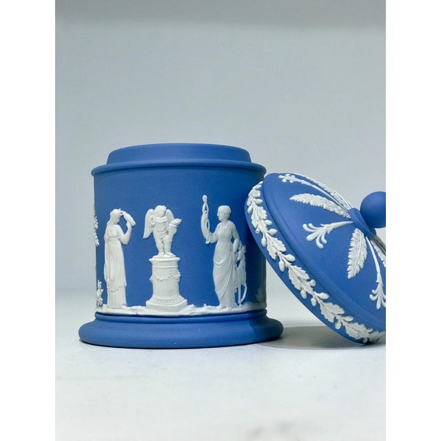 Jasperware Wedgwood Vessels - Set of 3 For Sale In West Palm - Image 6 of 13
