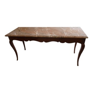 18th Century French Marble Top Table For Sale