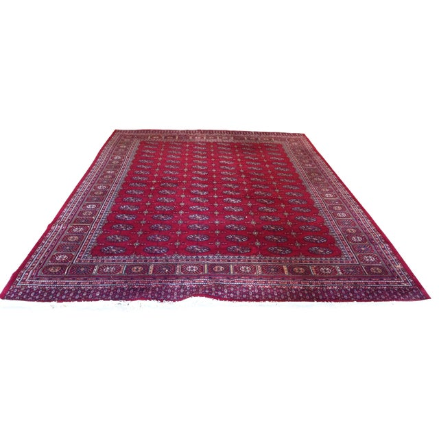 """Hand Knotted Wool Rug - 8'3"""" x 10'9"""" - Image 1 of 4"""