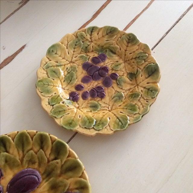 French Sarreguemines Majolica Plates - Set of 5 - Image 4 of 11