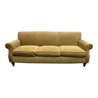 Room & Board Rolled Arm Sofa For Sale