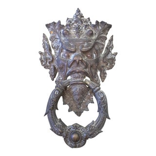Northwind Bronze Door Knocker Wall Art For Sale