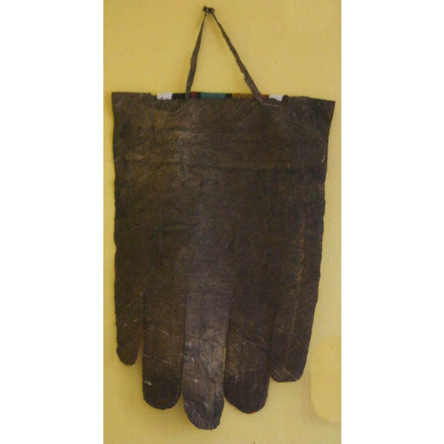 Animal Skin Antique African Wedding Apron From the Ndebele Tribe For Sale - Image 7 of 9