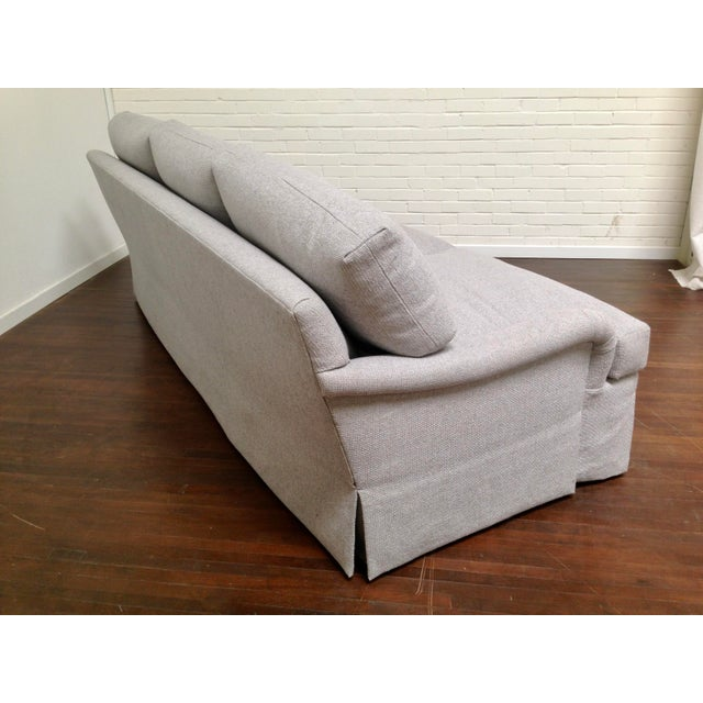 Light Gray RJones Wellington Sofa For Sale - Image 8 of 11