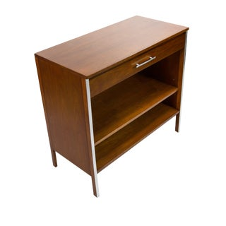 Paul McCobb for Calvin Dresser in Walnut and Aluminum, Circa 1960s For Sale