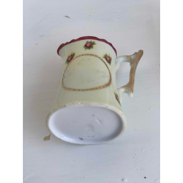 Metal Colclough Creamer, Tea Cup and Saucer Set For Sale - Image 7 of 12