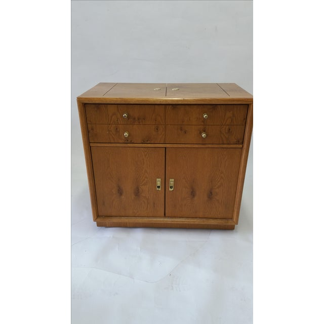 Stanley Mid-Century Rolling Bar - Image 2 of 7