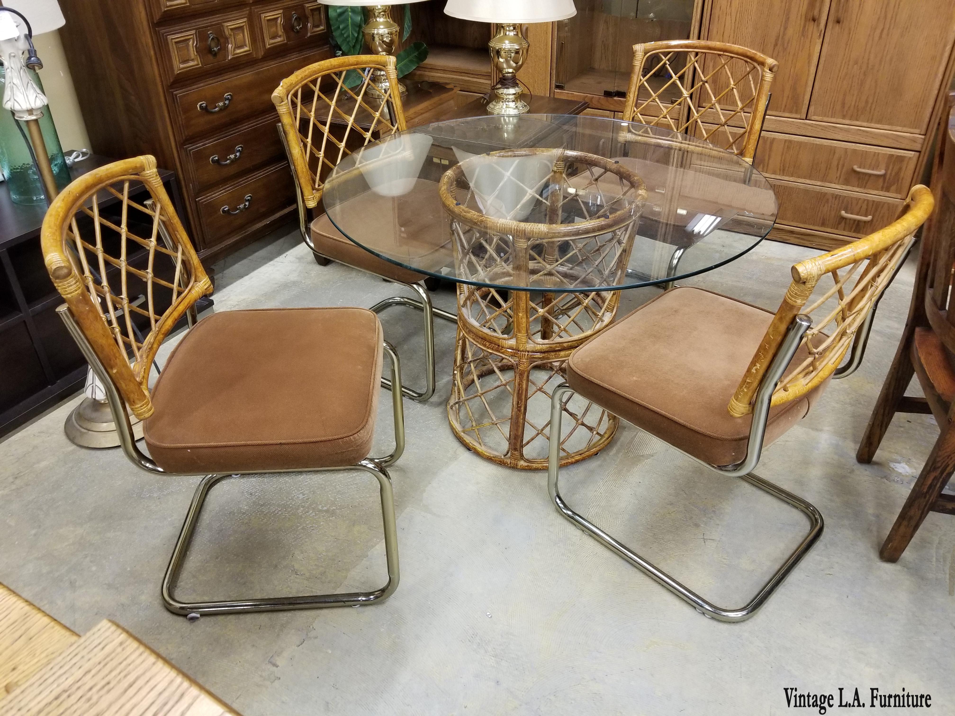 Mid Century Modern Unique Vintage Mid Century Modern Dining Room Set Table  U0026 Chrome And