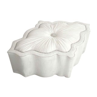 Modern Haute House Amour Ottoman For Sale