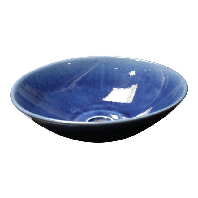 Cobalt Blue Sink Basin For Sale