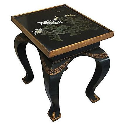 Lacquered Side Table - Image 1 of 8
