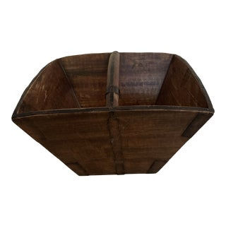 Antique Chinese Rice Carrier For Sale