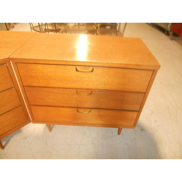 Mid-Century Danish Modern Corner Dresser Set - 3 For Sale - Image 7 of 7