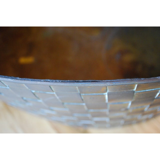 Extra Large Brass Planter by Chapman - Image 11 of 11