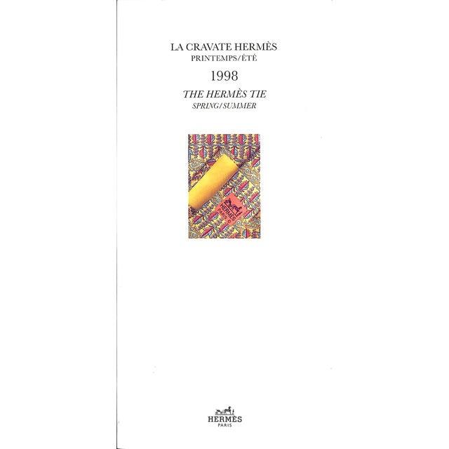 La Cravate Hermes Printemps/Ete: The Hermes Tie Spring/Summer 1998 For Sale