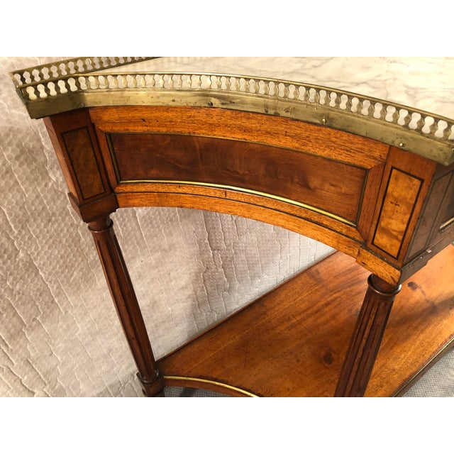 French Louis XVI Console Table c.1800 For Sale In Boston - Image 6 of 9
