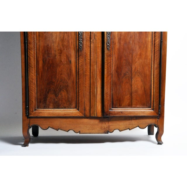 Late 19th Century French Walnut Armoire For Sale - Image 5 of 13