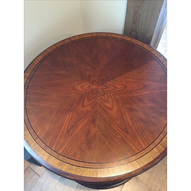 Ethan Allen Library Table - Image 3 of 4