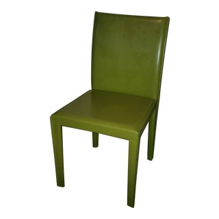 Maria Yee Leather Seat Chair For Sale
