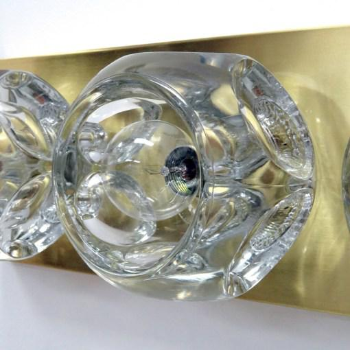 1970s Peill & Putzler Cubic Wall Lights - A Pair For Sale - Image 5 of 10