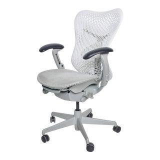 Herman Miller Modern Mirra 2, Ergonomic Office Chair White, Fog For Sale