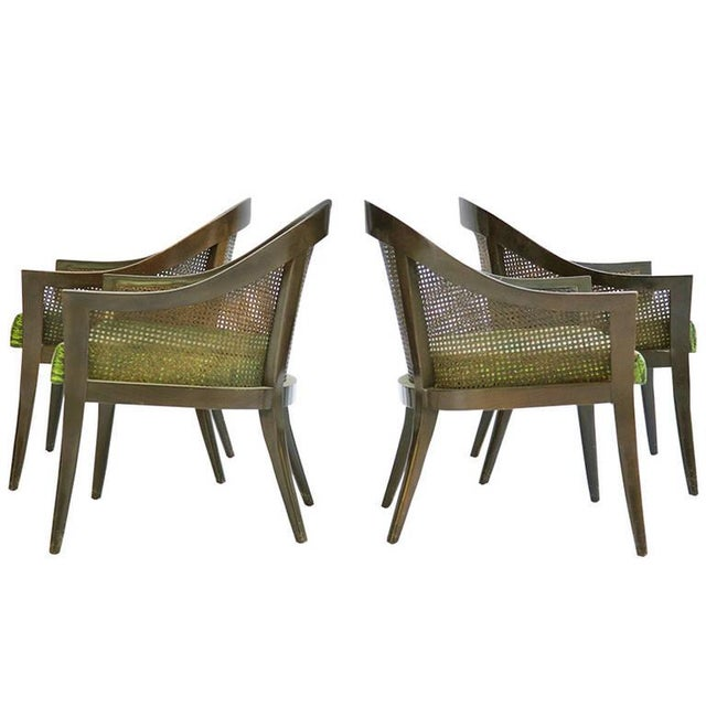 1960s Set of Harvey Probber Pull-Up Chairs For Sale - Image 5 of 11