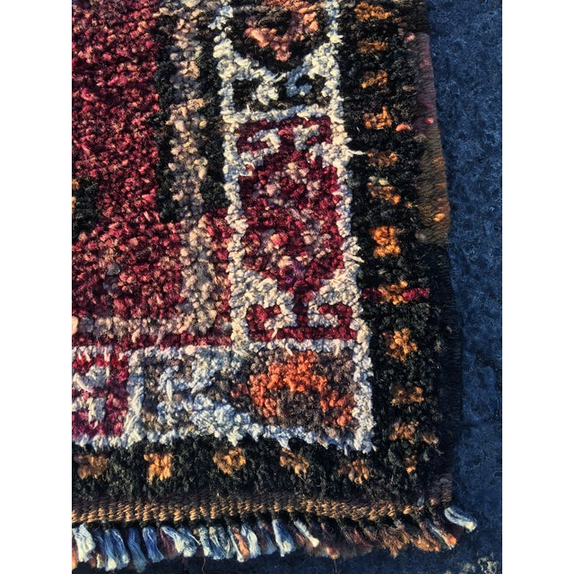 "Vintage Turkish Oushak Runner - 3' x 9'2"" - Image 10 of 11"