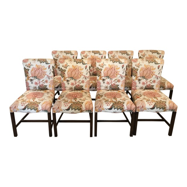 Upholstered Dining Chairs - Set of 8 - Image 1 of 11