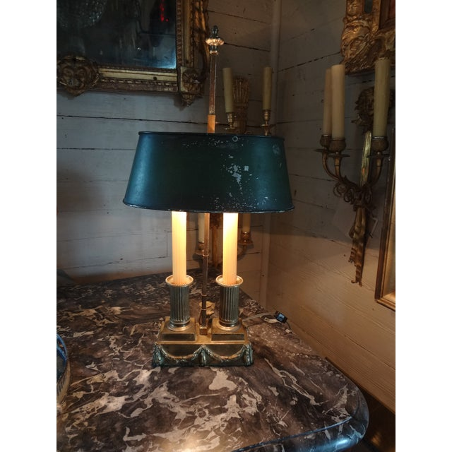 19th Century French Bouillotte Lamp For Sale - Image 10 of 11