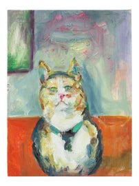 Image of Newly Made Cat Paintings