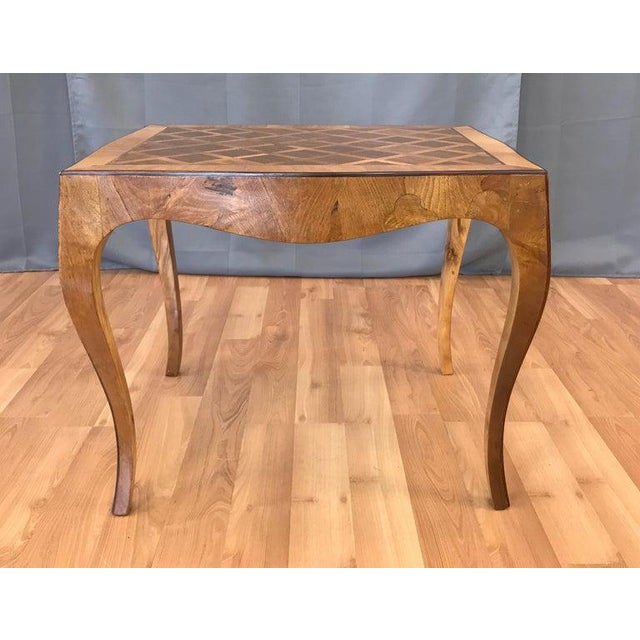 Incredible Vintage 1940S Italian Marquetry End Table B Machost Co Dining Chair Design Ideas Machostcouk