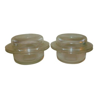 L&m Vignelli for Heller Covered Casseroles - a Pair For Sale