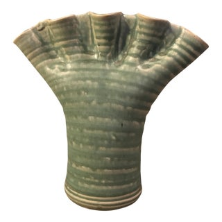 Tom Jones Finger Pottery Vase