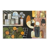 """Image of Henri Matisse Vintage 1973 Authentic Modernist Lithograph Print """"The Moroccans"""" 1916 For Sale"""