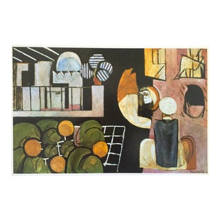 """Henri Matisse Vintage 1973 Authentic Modernist Lithograph Print """"The Moroccans"""" 1916 For Sale"""